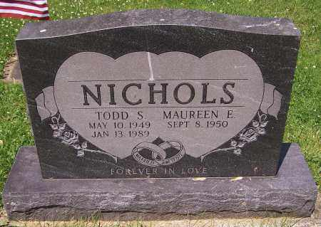NICHOLS, TODD S. - Stark County, Ohio | TODD S. NICHOLS - Ohio Gravestone Photos
