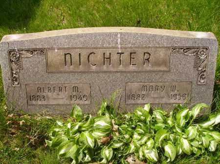 NICHTER, ALBERT M. - Stark County, Ohio | ALBERT M. NICHTER - Ohio Gravestone Photos