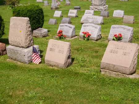 NICOL, FAMILY LOT - Stark County, Ohio   FAMILY LOT NICOL - Ohio Gravestone Photos