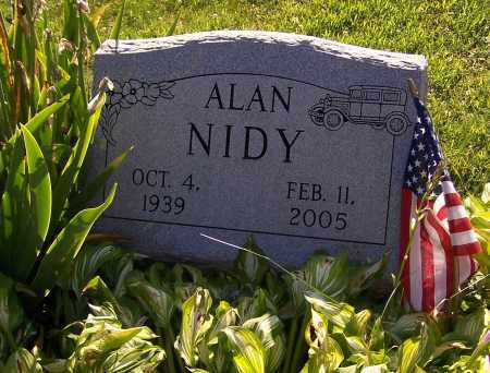NIDY, ALAN - Stark County, Ohio | ALAN NIDY - Ohio Gravestone Photos