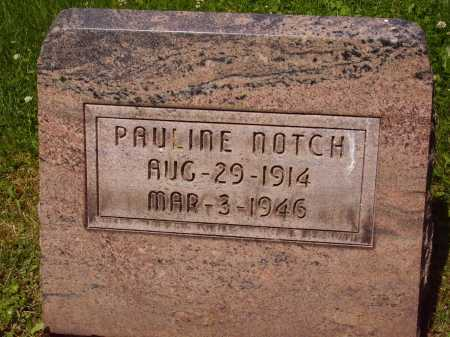 NOTCH, PAULINE - Stark County, Ohio | PAULINE NOTCH - Ohio Gravestone Photos