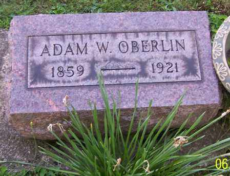 OBERLIN, ADAM W. - Stark County, Ohio | ADAM W. OBERLIN - Ohio Gravestone Photos