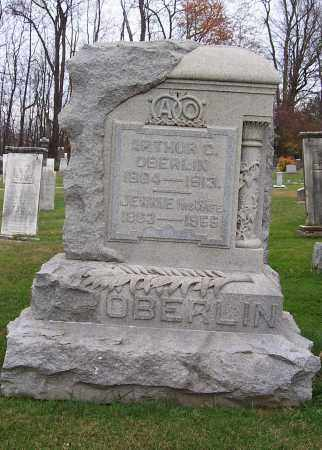 OBERLIN, JENNIE - Stark County, Ohio | JENNIE OBERLIN - Ohio Gravestone Photos