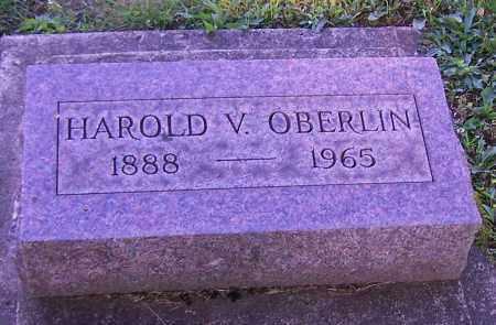 OBERLIN, HAROLD V. - Stark County, Ohio | HAROLD V. OBERLIN - Ohio Gravestone Photos