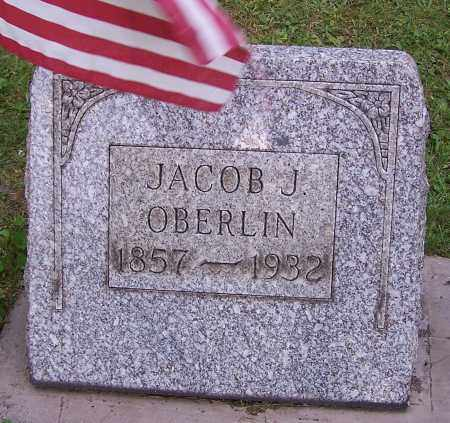 OBERLIN, JACOB J. - Stark County, Ohio | JACOB J. OBERLIN - Ohio Gravestone Photos