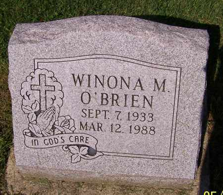 O'BRIEN, WINONA M. - Stark County, Ohio | WINONA M. O'BRIEN - Ohio Gravestone Photos