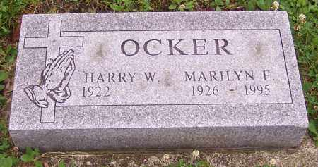 OCKER, HARRY W. - Stark County, Ohio | HARRY W. OCKER - Ohio Gravestone Photos