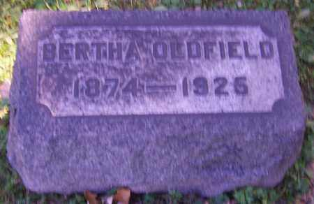 OLDFIELD, BERTHA - Stark County, Ohio | BERTHA OLDFIELD - Ohio Gravestone Photos