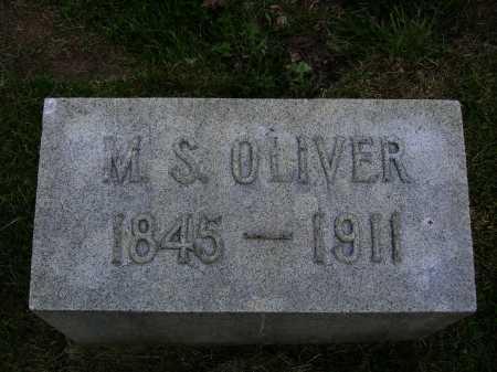 OLIVER, MESSUS S. - Stark County, Ohio | MESSUS S. OLIVER - Ohio Gravestone Photos