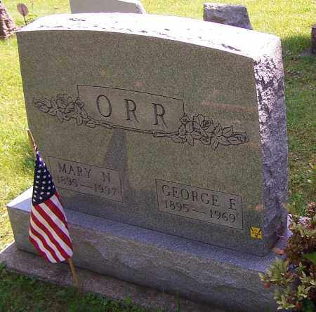 ORR, MARY N. - Stark County, Ohio | MARY N. ORR - Ohio Gravestone Photos