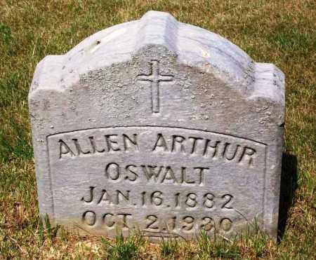OSWALT, ALLEN ARTHUR - Stark County, Ohio | ALLEN ARTHUR OSWALT - Ohio Gravestone Photos
