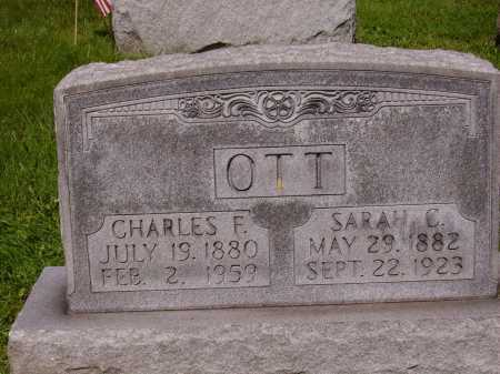 OTT, CHARLES F. - Stark County, Ohio | CHARLES F. OTT - Ohio Gravestone Photos