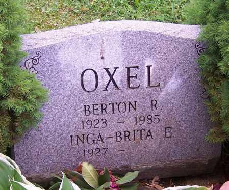 OXEL, INGA-BRITA E. - Stark County, Ohio | INGA-BRITA E. OXEL - Ohio Gravestone Photos