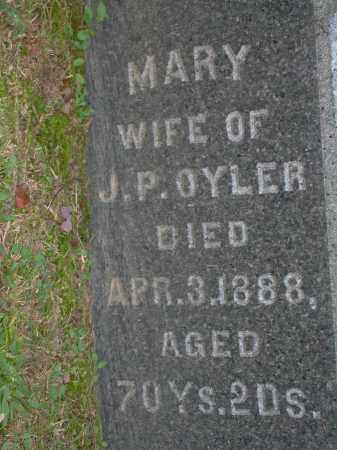 OYLER, MARY - Stark County, Ohio | MARY OYLER - Ohio Gravestone Photos