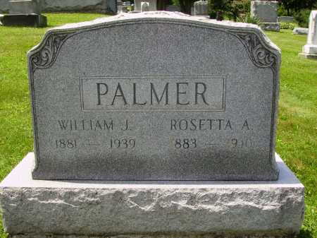 PALMER, WILLIAM J. - Stark County, Ohio | WILLIAM J. PALMER - Ohio Gravestone Photos