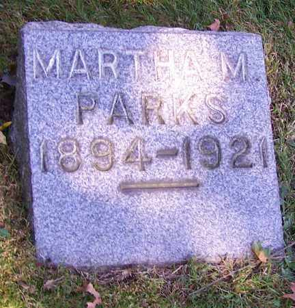 PARKS, MARTHA M. - Stark County, Ohio | MARTHA M. PARKS - Ohio Gravestone Photos
