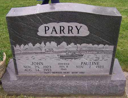 PARRY, PAULINE - Stark County, Ohio | PAULINE PARRY - Ohio Gravestone Photos