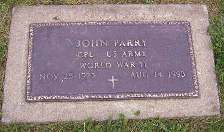 PARRY, JOHN  (MIL) - Stark County, Ohio | JOHN  (MIL) PARRY - Ohio Gravestone Photos