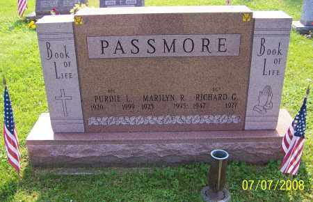 PASSMORE, RICHARD G. - Stark County, Ohio | RICHARD G. PASSMORE - Ohio Gravestone Photos