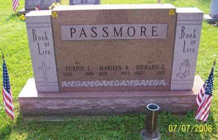 PASSMORE, PURDIE L. - Stark County, Ohio | PURDIE L. PASSMORE - Ohio Gravestone Photos