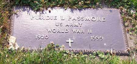 PASSMORE, PURDIE L.  (MIL) - Stark County, Ohio | PURDIE L.  (MIL) PASSMORE - Ohio Gravestone Photos