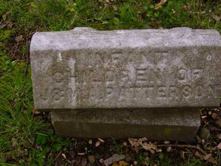 PATTERSON, INFANT CHILDREN - Stark County, Ohio | INFANT CHILDREN PATTERSON - Ohio Gravestone Photos