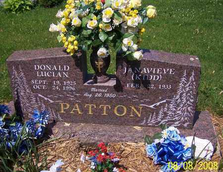 PATTON, DONALD LUCIAN - Stark County, Ohio | DONALD LUCIAN PATTON - Ohio Gravestone Photos