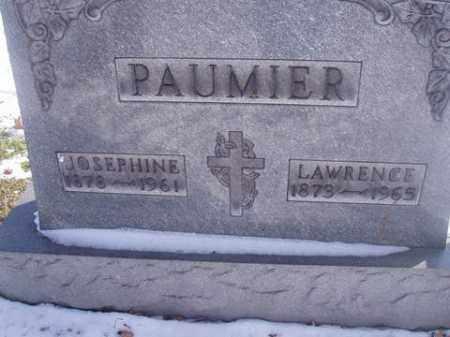 MONNIE PAUMIER, JOSEPHINE - Stark County, Ohio | JOSEPHINE MONNIE PAUMIER - Ohio Gravestone Photos