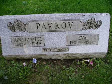 PAVKOV, IGNATZ MIKE - Stark County, Ohio | IGNATZ MIKE PAVKOV - Ohio Gravestone Photos