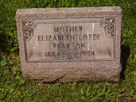 PEARSON, ELIZABETH MAY LOTZE - Stark County, Ohio | ELIZABETH MAY LOTZE PEARSON - Ohio Gravestone Photos
