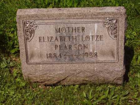 PEARSON, ELIZABETH MAY LOTZE - Stark County, Ohio | ELIZABETH MAY LOTZE PEARSON - Ohio Gravestone Photos