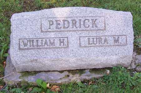 PEDRICK, WILLIAM H. - Stark County, Ohio | WILLIAM H. PEDRICK - Ohio Gravestone Photos