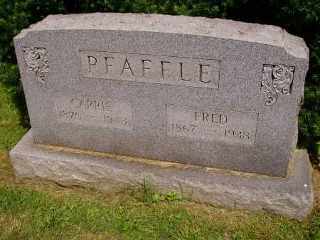 PFAFFLE, FRED - Stark County, Ohio | FRED PFAFFLE - Ohio Gravestone Photos