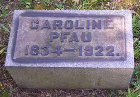 PFAU, CAROLINE - Stark County, Ohio | CAROLINE PFAU - Ohio Gravestone Photos
