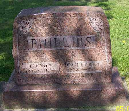 PHILLIPS, LLOYD E. - Stark County, Ohio | LLOYD E. PHILLIPS - Ohio Gravestone Photos