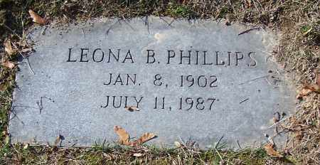 PHILLIPS, LEONA B. - Stark County, Ohio | LEONA B. PHILLIPS - Ohio Gravestone Photos