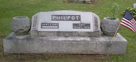 PHILPOT, MARY ETHEL - Stark County, Ohio | MARY ETHEL PHILPOT - Ohio Gravestone Photos