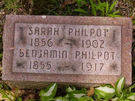 PHILPOT, SARAH - Stark County, Ohio | SARAH PHILPOT - Ohio Gravestone Photos