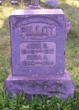 PILLOT, JOHN B. - Stark County, Ohio | JOHN B. PILLOT - Ohio Gravestone Photos