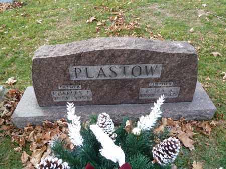 PLASTOW, ELIZA - Stark County, Ohio | ELIZA PLASTOW - Ohio Gravestone Photos