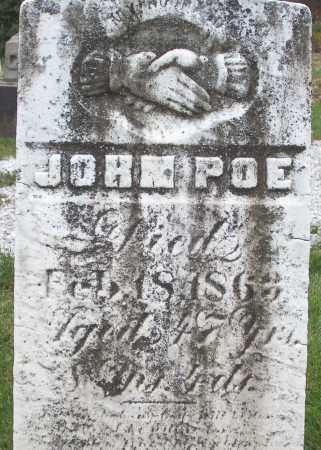 POE, JOHN - Stark County, Ohio | JOHN POE - Ohio Gravestone Photos