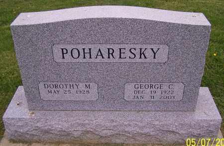 POHARESKY, GEORGE C. - Stark County, Ohio | GEORGE C. POHARESKY - Ohio Gravestone Photos