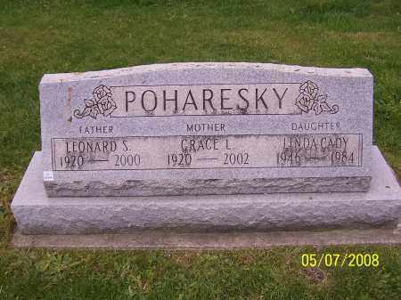 POHARESKY, LEONARD S. - Stark County, Ohio | LEONARD S. POHARESKY - Ohio Gravestone Photos