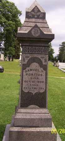 PONTIUS, SAMUEL P. - Stark County, Ohio | SAMUEL P. PONTIUS - Ohio Gravestone Photos