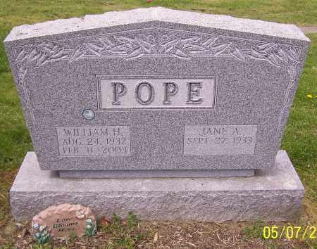 POPE, WILLIAM H. - Stark County, Ohio   WILLIAM H. POPE - Ohio Gravestone Photos