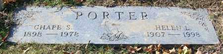PORTER, CHAPE S. - Stark County, Ohio | CHAPE S. PORTER - Ohio Gravestone Photos