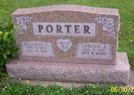 PORTER, KENNETH G. - Stark County, Ohio | KENNETH G. PORTER - Ohio Gravestone Photos