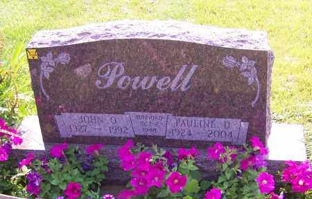 POWELL, PAULINE D. - Stark County, Ohio | PAULINE D. POWELL - Ohio Gravestone Photos