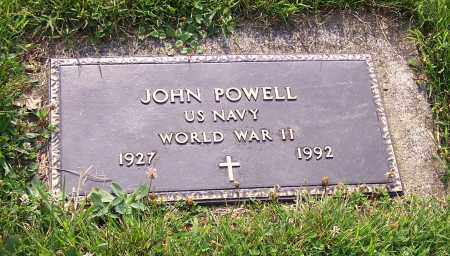 POWELL, JOHN   (MIL) - Stark County, Ohio | JOHN   (MIL) POWELL - Ohio Gravestone Photos