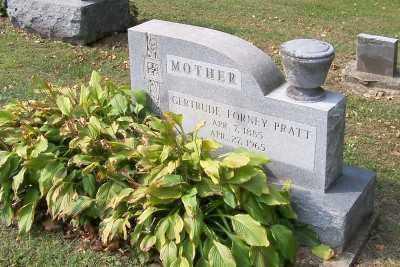 FORNEY PRATT, GERTRUDE - Stark County, Ohio | GERTRUDE FORNEY PRATT - Ohio Gravestone Photos